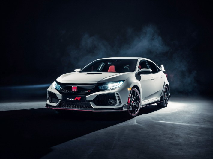 Honda Civic Type-R 2017 (+video)