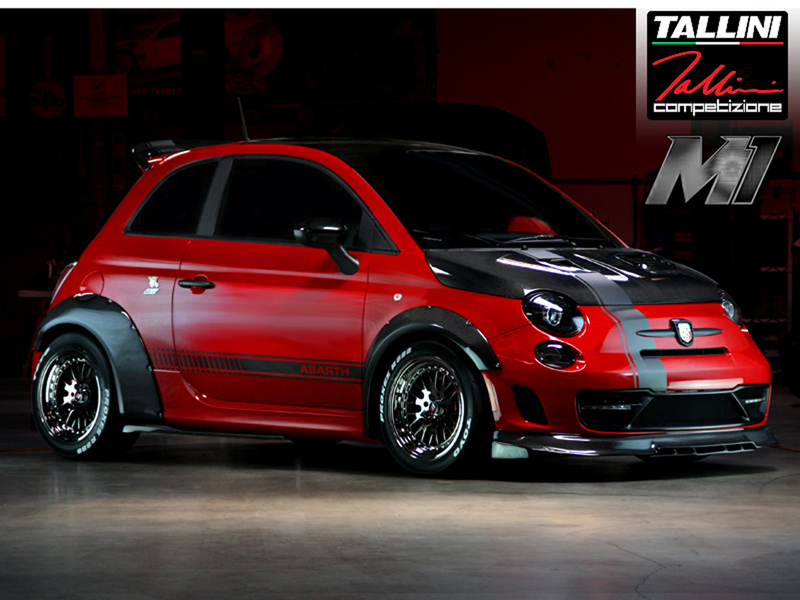 Abarth 500 Tuning by Road///Race
