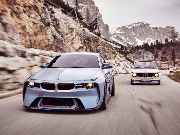 BMW 2002 Hommage Concept (+video)