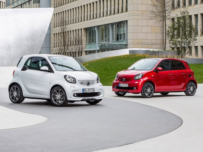 Smart ForTwo & FourFour Brabus