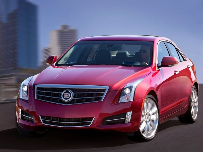 Cadillac ATS (+video)