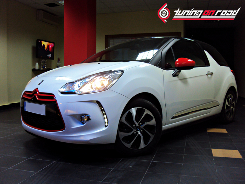 Citroen DS3 Diesel Tuning by Tuning On Road