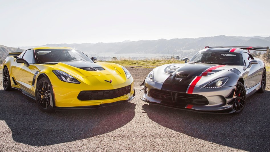Video : Corvette Z06 VS Dodge Viper ACR