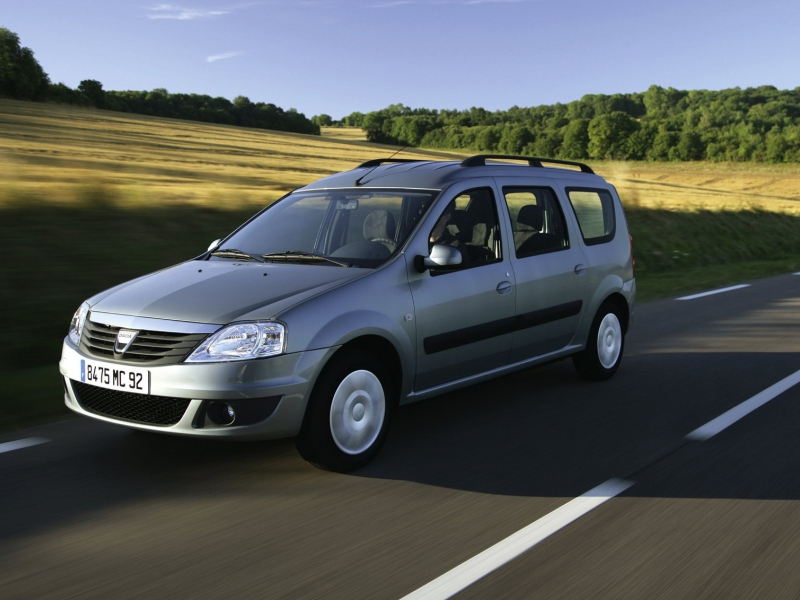 Driven : Dacia Logan MCV 1.6