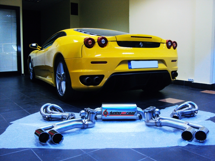 Ferrari F430 Tuning by Tuning On Road (+video)