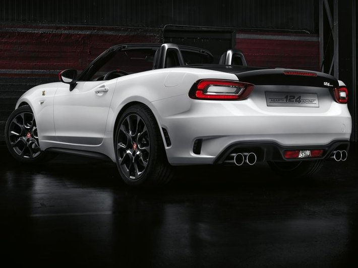 Abarth 124 Spider (+video)