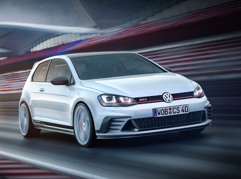 Επετειακό VW Golf GTI Clubsport