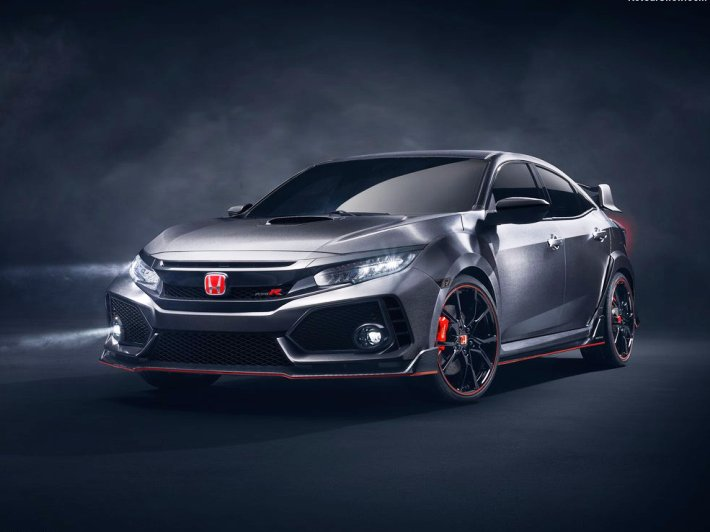 Honda Civic Type-R Concept (+video)
