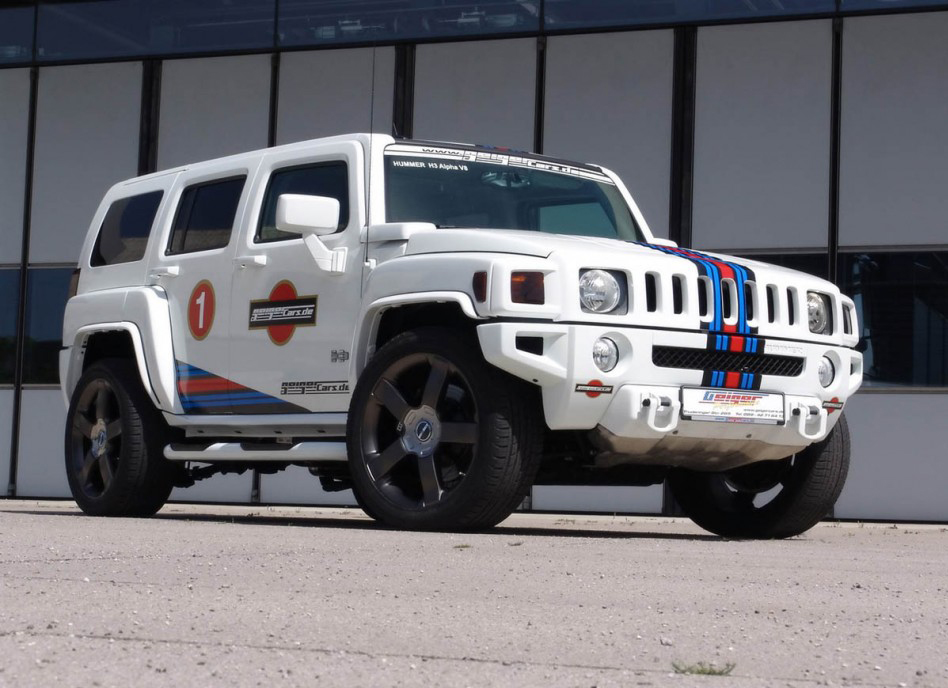 Hummer H3 V8 Tuning by Gieger