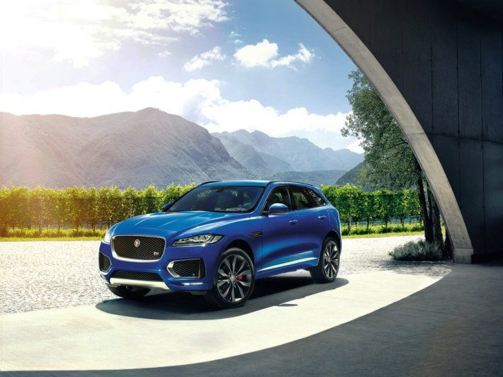 Jaguar F Pace 2017 (+video)