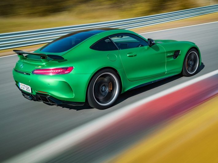 Mercedes-Benz AMG GT R (+video)