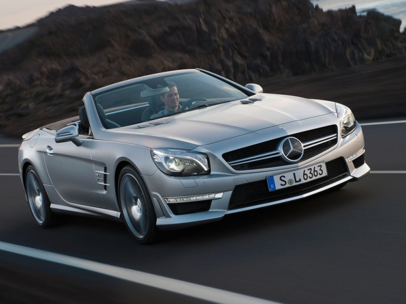 Mercedes-Benz SL63 AMG (+video)