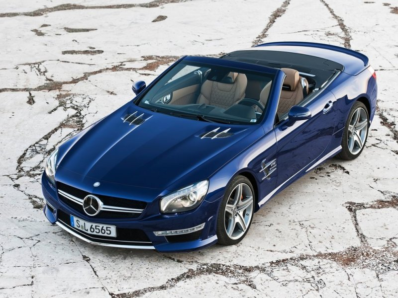 Mercedes-Benz SL65 AMG (+video)