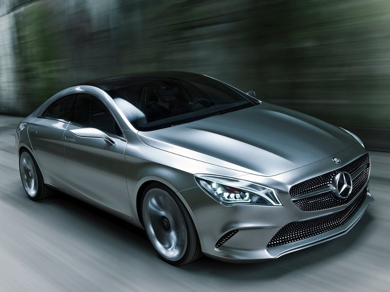 Mercedes-Benz Style Coupe Concept (+video)