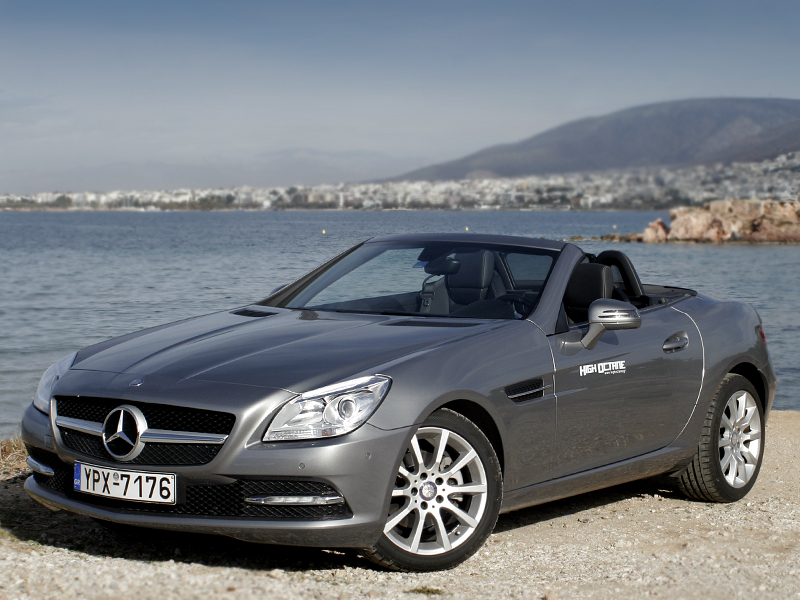 Driven : Mercedes-Benz SLK 200 BlueEFFICIENCY