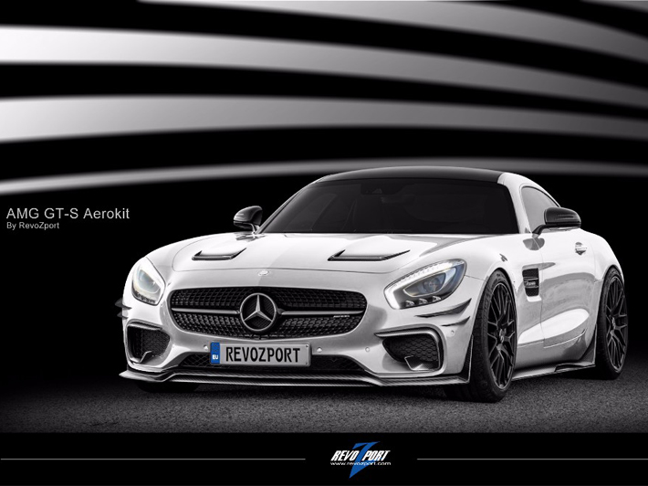 Mercedes-Benz AMG GT Tuning by RevoZport
