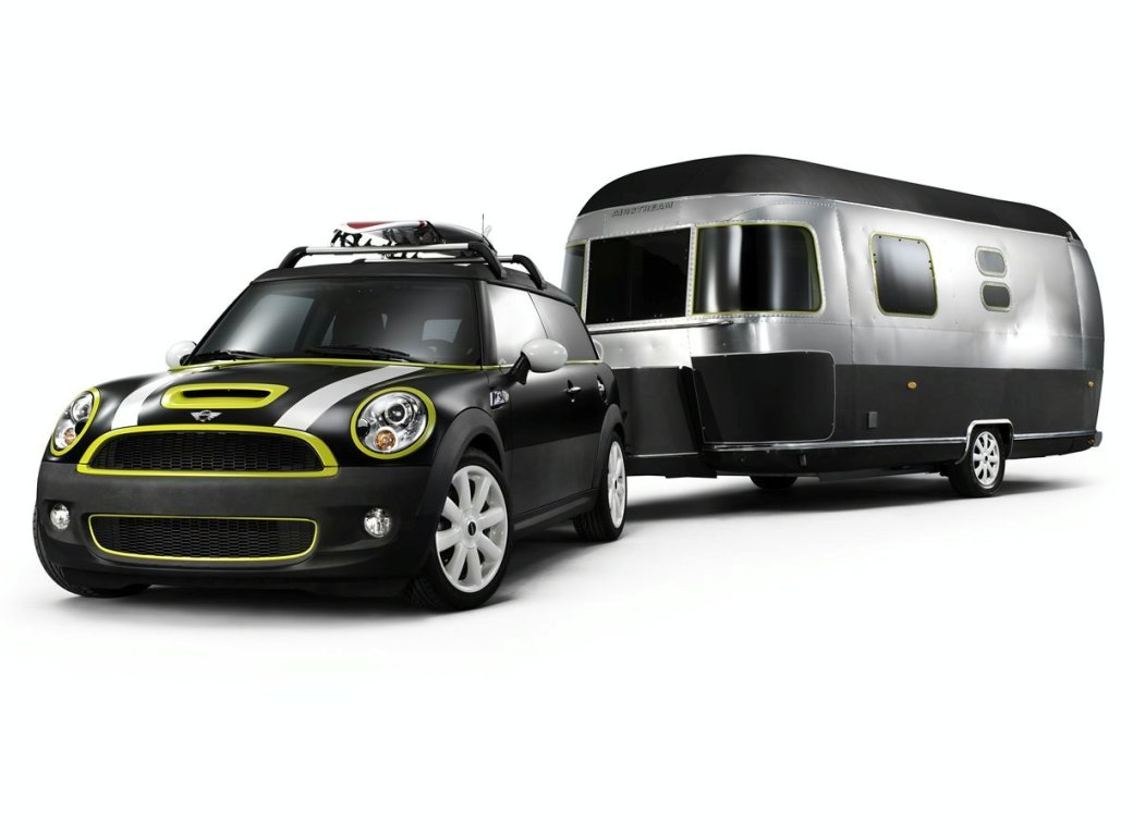 Mini Cooper S Clubman Airstream (+video)