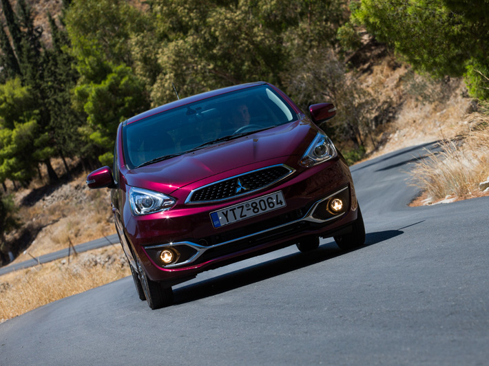 First Drive : Mitsubishi Space Star MY2016