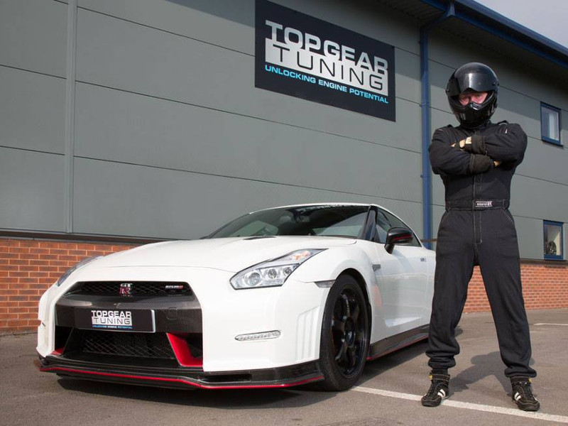 Nissan GT-R Nismo Tuning by Top Gear