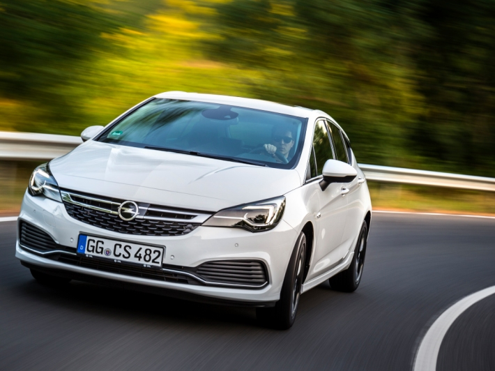 Opel Astra με OPC Line Sport Pack
