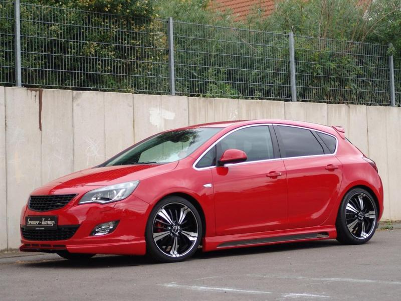 Opel Astra 2011 Tuning by Senner
