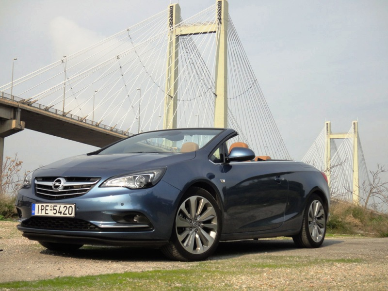 Driven : Opel Cascada 1.6 SIDI Turbo 170ps