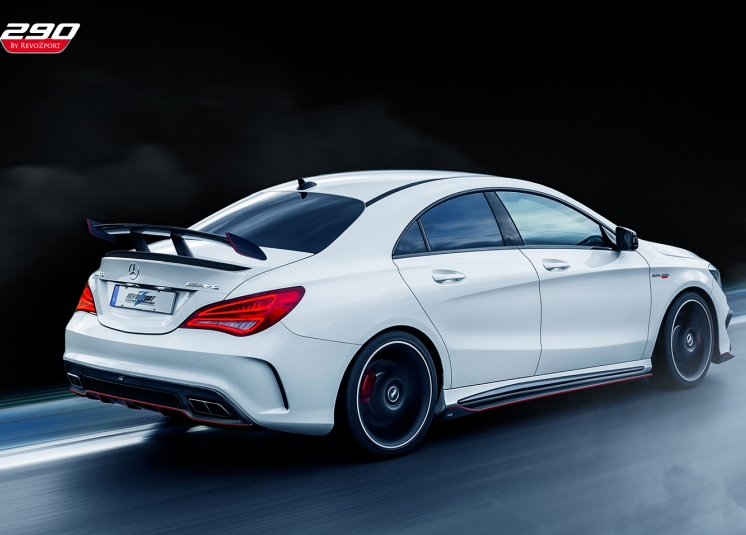 Mercedes-Benz CLA Tuning by RevoZport