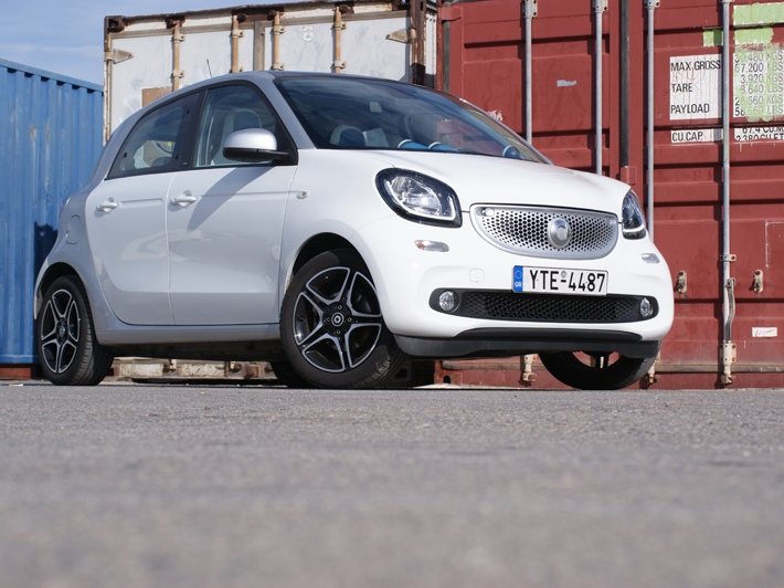 Driven : Smart ForFour 1.0 71ps