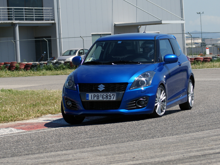 Track Day με Suzuki Swift Sport