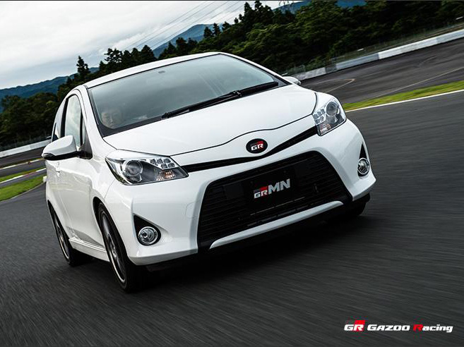Toyota Yaris Turbo by GRMN (+video)