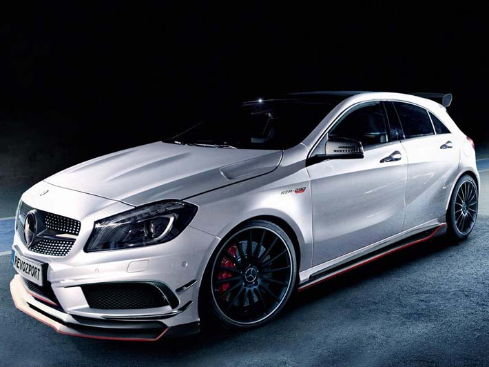 Mercedes-Benz A-Class Tuning by RevoZport