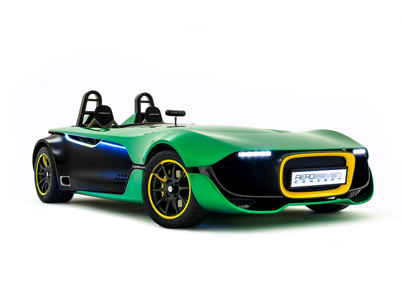 Caterham AeroSeven Concept (+video)