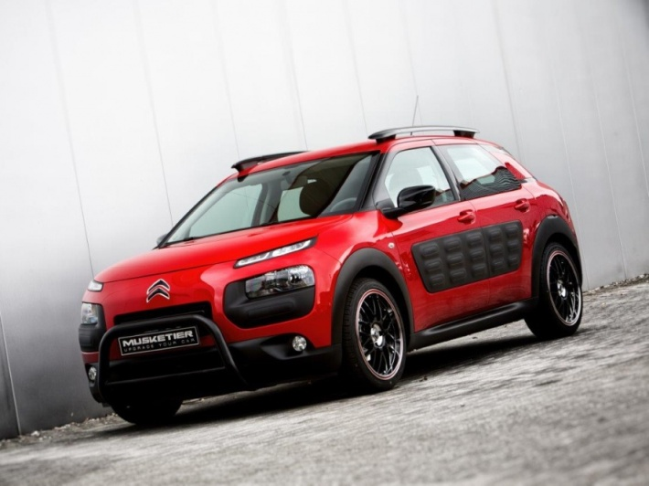 Citroen C4 Cactus Tuning by Musketeer