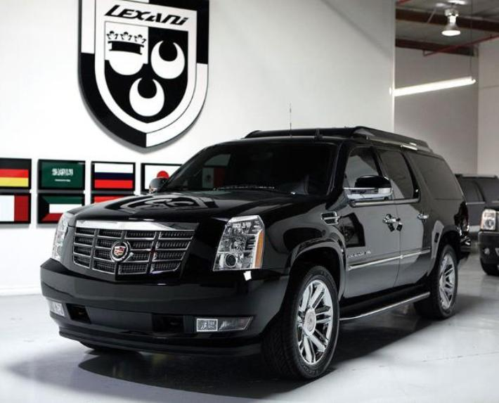 Cadillac Escalade Lexani Motorcars (+video)