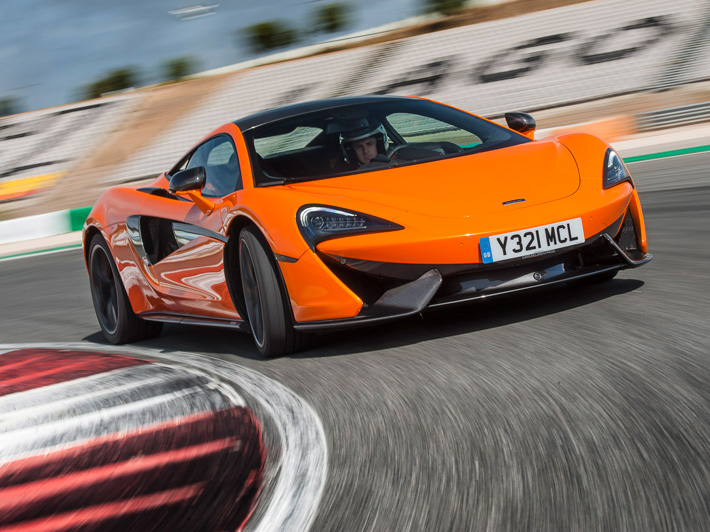 Chris Harris On McLaren 570S