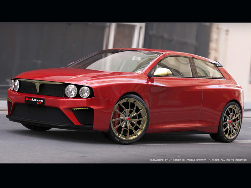 Lancia Delta Integrale Evoluzione (+video)