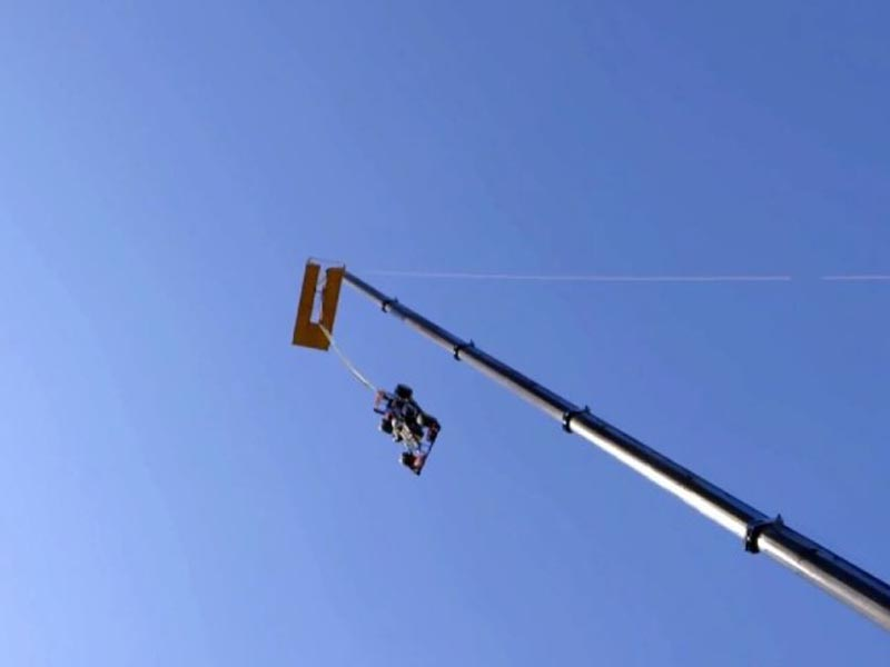 Videos : Bungee jumping με F1