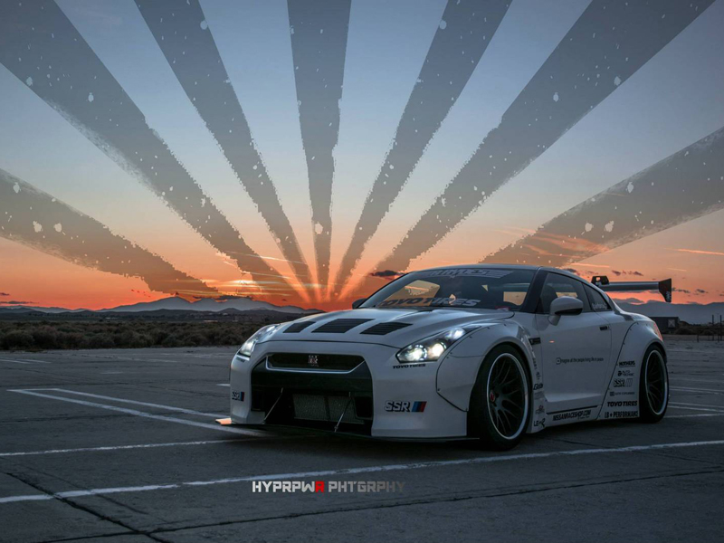 Nissan GT-R R35 Tuning by Liberty Walk