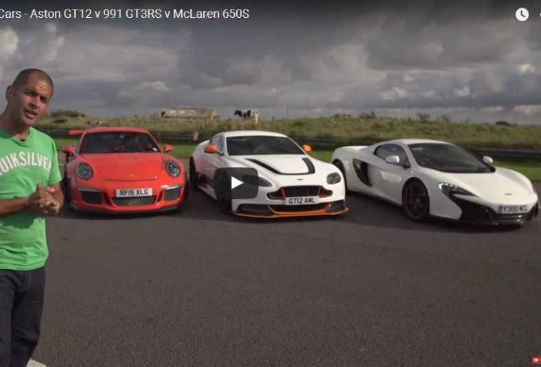 Chris Harris on Cars GT12 & GT3RS & 650S