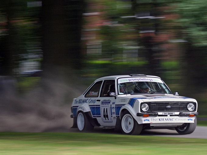 Video : Ford Escort MKII Rally Car