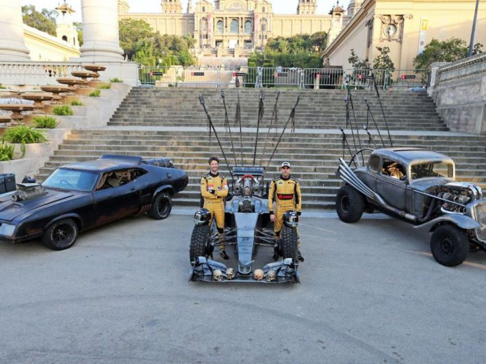 Lotus F1 Mad Max Hybrid (+video)