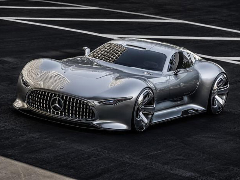 Merceds-Benz AMG Vision Gran Turismo (+video)