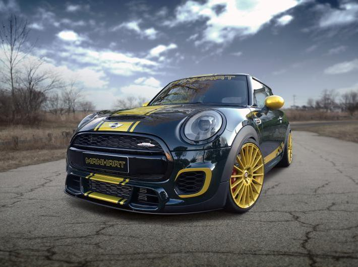 Mini JCW F56 Tuning by Manhart με 300ps