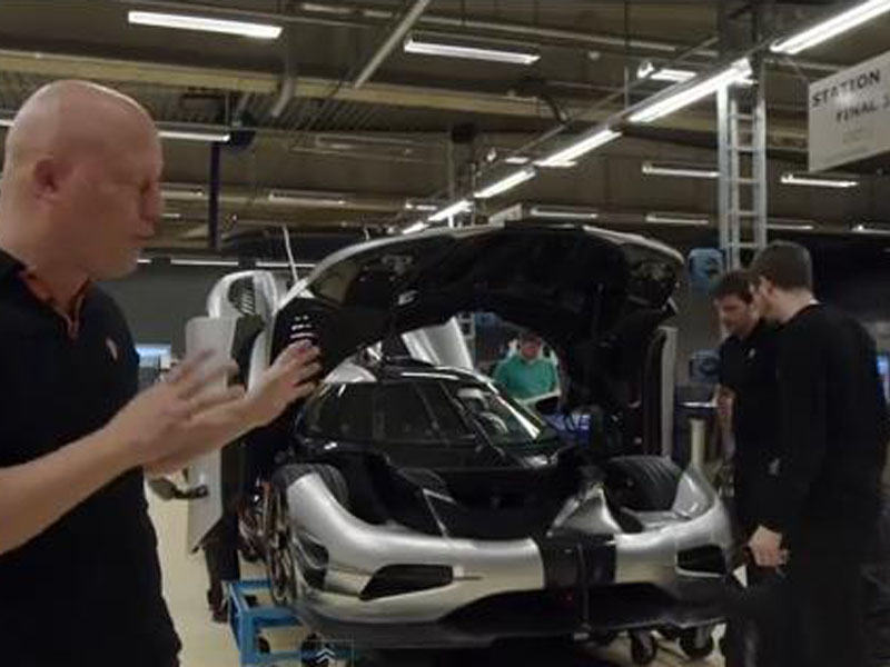 Video : Koenigsegg One:1