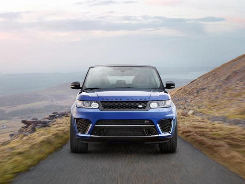 Range Rover Sport SVR (+video)