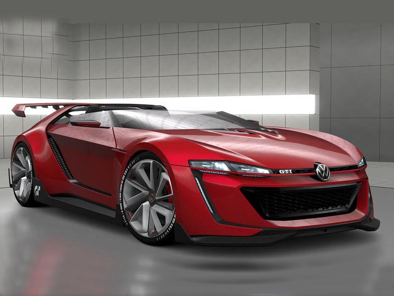 VW GTI Roadster Vision Gran Tourismo (+video)